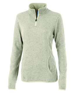 5312CR - DS - 5312CR - DS - Women's Heathered Fleece Pullover
