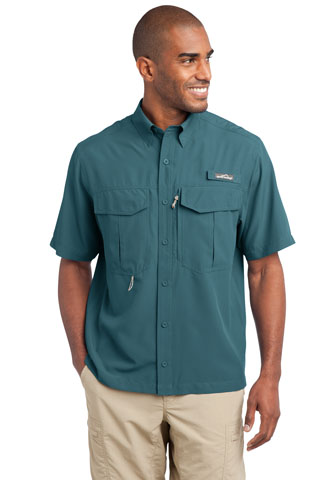 EB602 - NAP/DS - EB602 - NAP/DS - Eddie Bauer - Short Sleeve Performance Fishing Shirt