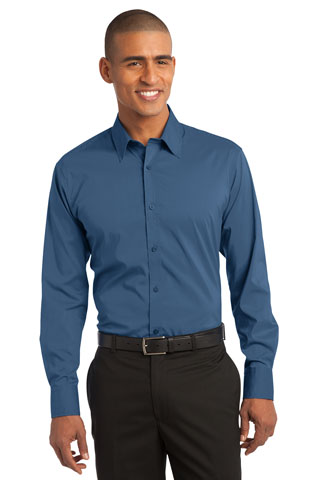 S646 - DS - S646 - DS - Port Authority Stretch Poplin Shirt