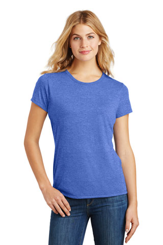 DM130L - DS - DM130L - DS - District Made Ladies Perfect Tri Crew Tee