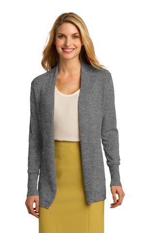 LSW289 - DS - LSW289 - DS - Port Authority Ladies Open Front Cardigan Sweater