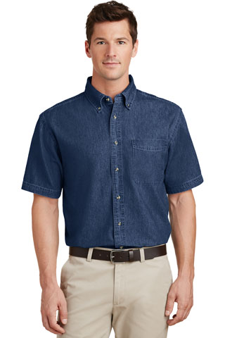 SP11 - NAP - SP11 - NAP - Short Sleeve Denim Shirt
