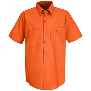 SS24 - DS - SS24 - DS - Short Sleeve Enahanced Visibility Work Shirt